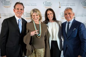 We took one more with Chef Thomas Keller and his wife, Laura Cunningham. (Photo by Culinary Institute of America)