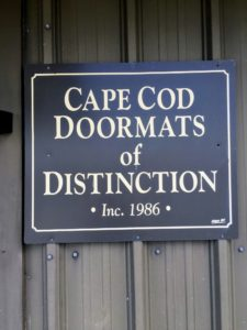 Cape Cod Doormats was founded in 1986. Owner, Dawn Stahl, purchased the family owned business in 2006 - and it has thrived ever since. (Photo by Dawn Stahl)