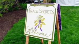 This is Trade Secrets' 17th year anniversary. The two-day garden event was established by Bunny Williams in 2000. I always like to get there bright and early on the first day.