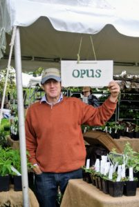 Here is Ed Bowen, the owner of Opus, a nursery in Little Compton, Rhode Island, which specializes in unusual perennials. They always have nice plants also. http://www.opusplants.com