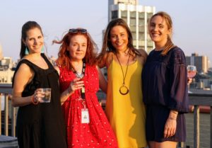 Here's a nice group snap of Rachel Stewart, Merchandising Marketing Director, Jo Ferro, Martha & Marley Spoon's PR Manager, Dana Miller, our PR Coordinator and Alexa Stark, our Associate PR Manager - it was an enjoyable event for everyone. (Photo by Laura Manzano)