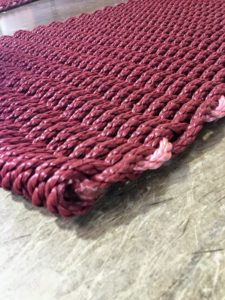Properly sealing the ends prevents any unraveling. (Photo by Dawn Stahl)