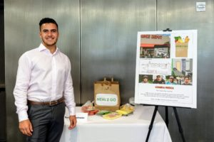 "Rostam's submission is called ""Comida Fresca"" - it provides a special meal subscription plan for day laborers that allows them to pay only when they are working. (Photo Dana J. Quigley Photography)"