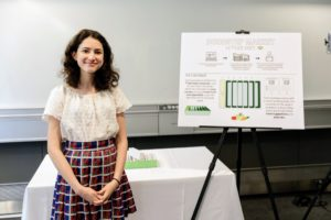 "Tova submitted an idea called ""Doorstep Market: Lettuce Visit"", which focuses on delivering fresh produce to seniors and those who are homebound. (Photo by Dana J. Quigley Photography)"
