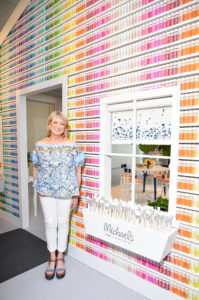 Be sure to visit your nearest Michaels store Friday, June 23rd to check out my newest line of crafts paints. http://www.michaels.com/ (Photo by Michael Loccisano/Getty Images for The Michaels Companies)
