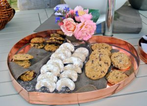 We also offered a selection of delicious homemade cookies to both groups.
