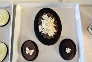 And here are more of Robert's stunning creations using the dark chocolate.