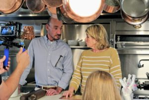 Robert and I use different baking techniques, but I am so thrilled to learn some of his - he cooks with such artistry. Robert explains that he enjoys working with fondant and modeling chocolate because of its flavor and elasticity.