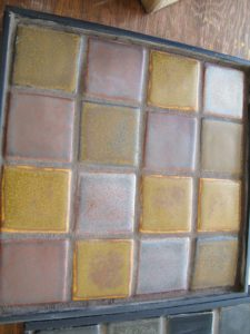 And this is the Iroquois palette from Pewabic's Revelation Blends collection.