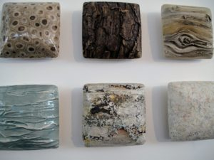 This series of tiles are also so beautiful - these are also made by Elizabeth DeLyria.