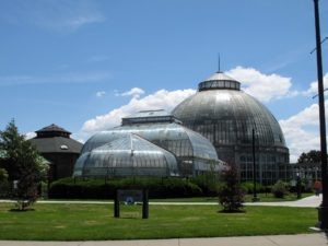 As we continued to the airport, we passed the Anna Scripps Whitcomb Conservatory at the Belle Isle Park. This is the oldest continually-running conservatory in the United States built in 1902 - I hope to stop here on my next visit to Detroit.