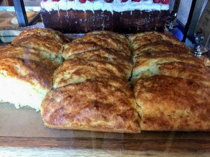 Astro also offers these sweet and savory buttermilk scones - I just had to try one. It was so tasty.