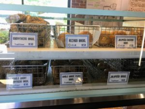 They offer many bagel flavors, including classic plain, cinnamon raisin, sesame and poppy, as well as more unique bagels such as rosemary olive oil and jalepeno cheddar. I encourage you to stop the next time you're in the area. https://www.detroitinstituteofbagels.com/