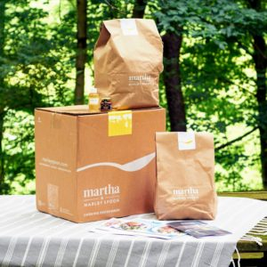 And, no matter the season, Martha & Marley Spoon always delivers the ingredients and the recipes in these well-marked, well-packaged boxes. Each recipe is also saved on the Martha & Marley Spoon app, so you can always refer to your favorites. (Photo courtesy of My Subscription Addiction)