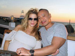 My makeup artist, Daisy Schwartzberg Toye, and her husband, Eugene, met us for dinner at Duryea's Lobster Deck in Montauk.