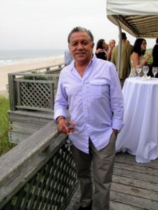 This is Alex Silva, who has been taking care of my East Hampton home, Lily Pond, for many years.