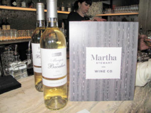 Martha Stewart Wine Co. provided a wonderful wine selection - a 2015 Marquis de Bacalan Sauvignon Blanc – a sophisticated white with fruity and herbal flavors. http://marthastewartwine.com