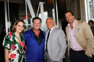 In this photo - Madison Leondard, Stew, Julian Niccolin, and our Sequential Brands Group Chairman, Bill Sweedler. (Photo by Cutty McGill)
