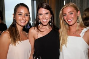 Kristina Patsis, Jessie Lison, and Madison Vessels all work for the Magrino Agency. (Photo by Cutty McGill)
