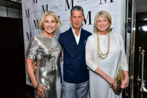 And here I am with Susan, and the editor of W magazine, Stefano Tonchi. (Photo by Patrick McMullan/PMC)
