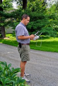 Fred is an avid drone pilot and loves to experiment with different angles and altitudes.