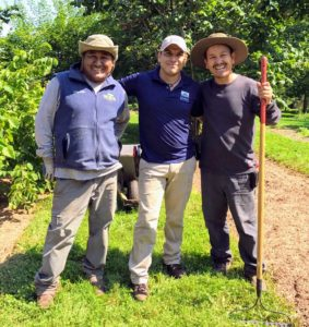 Here are Pete, Alfredo and Chhiring. Everyone enjoyed seeing Alfredo and catching up. Come again soon, Alfredo!
