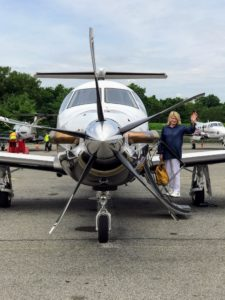 Here I am leaving for my trip to Skylands. I am very fortunate to be able to fly privately. The trip is under a couple of hours to Bar Harbor, Maine.