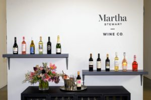 I will conduct a wine tasting with samples from the Martha Stewart Wine Co. You'll love the selections I've chosen.