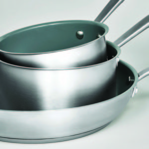 And, don't worry - if you love nonstick cookware, but are concerned about harmful chemicals, my Culinary Science Cookware is completely PFOA- and PTFE-free.