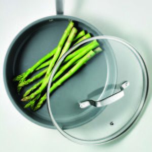 All my fry pans and pots in this collection heat quickly and evenly for better temperature control, which is so important, especially when cooking busy weeknight dinners.