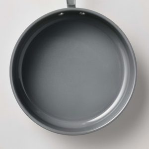 My pots have this durable re-inforced ceramic non-stick interior for easy food release.