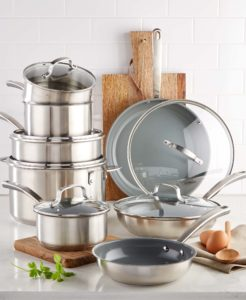 My pots and pans are great for everyday cooking and special occasions. And, they make great holiday gifts - it's never too early to start thinking about your list. Please visit macys.com for more information on my new Martha Stewart Collection Culinary Science Cookware.