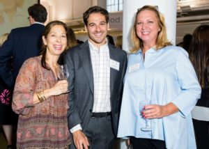 Here are Lisa Wagner, Thomas Joseph, and Kim Miller-Olko. (Photo by Sam Deitch for BFA.com)