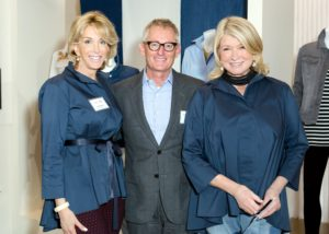 Here I am with Sequential Brands Group CEO, Karen Murray, and Chief Merchandising Officer of QVC, Doug Howe. (Photo by Sam Deitch for BFA.com)