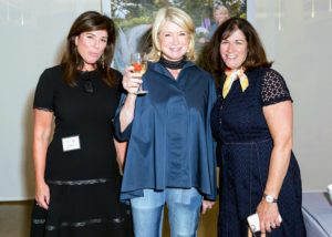 And, here I am with Christine Kelley, and Carolyn D'Angelo. (Photo by Sam Deitch for BFA.com)