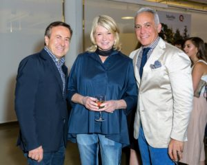 Here is a nice photo of Chef Daniel Boulud, Chef Geoffrey Zakarian, and myself. (Photo by Sam Deitch for BFA.com)