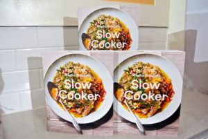 "And, I will also do a book signing for my newest publication, ""Martha Stewart's Slow Cooker"". Copies of the book will be given to those attending my ""Meet Martha"" event."