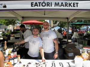 Outside, there were many other wonderful vendors, including this one from the Detroit gourmet shop, Eatori. Market.http://www.eatori.com