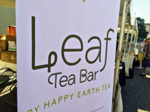 Leaf Tea Bar is a brick and mortar creation of Happy Earth Tea, a Rochester, New York based purveyor of fine teas. https://happyearthtea.com/pages/leaf-tea-bar