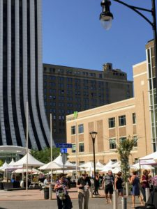 The D&C Food & Wine Experience was held in downtown Rochester at Parcel 5. http://foodandwine.democratandchronicle.com