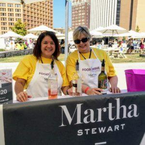 Everyone loved the Martha Stewart wines - they were so refreshing on such a warm day. My rose and sauvignon blanc were in high demand. https://marthastewartwine.com