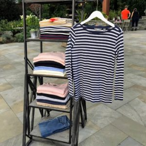 Here's another display showing my Classic Style Boat Neck shirts, Scoop Necks, and Raglan Sleeve Sweater Tunics.