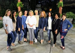 Here I am again, joined by the QVC models - Bonnie, Tynisa, Megan, Chantal, Amanda, Jessica, Taleah and Jane.