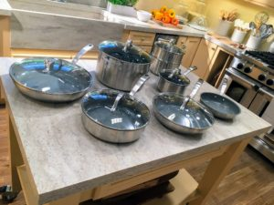 If you caught my recent back-to-school family breakfast Facebook LIVE, you saw many of my new pots and redesigned kitchen essentials.