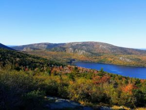 Not far is Eagle Lake - at 436-acres, it is the largest fresh water lake in Acadia National Park on Mount Desert Island. It has a maximum depth of 110-feet and an average depth of 50-feet.