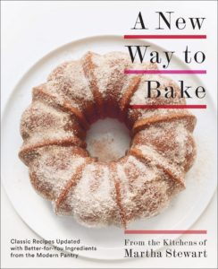 """This season of """"Martha Bakes"""" was inspired by my book, """"A New Way to Bake: Classic Recipes Updated with Better-for-You Ingredients from the Modern Pantry"""". It's the must-have book for anyone looking to get beyond white flour and sugar, and onto natural sweeteners, and whole-grain flours. I hope you have your copy!. https://www.amazon.com/New-Way-Bake-Better-You/dp/0307954714"""
