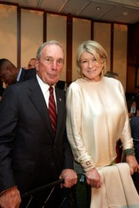 Here I am with former New York City mayor, Michael Bloomberg. (Photo by 8SP_Simon Luethi)