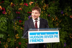 Actor, comedian, and screenwriter, Mike Myers, made some opening remarks to the audience. (Photo by 8SP_Simon Luethi)