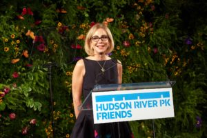 President and CEO of the Hudson River Park Trust, Madelyn Wils, also addressed the guests. (Photo by 8SP_Simon Luethi)