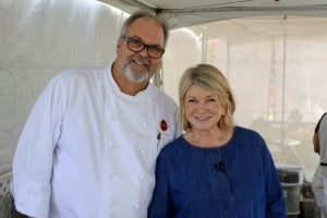 Here I am with Chef Bryan Scofield, chef and owner of Scofield Catering & Management.